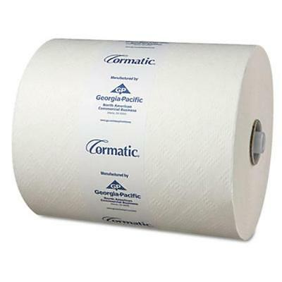 Georgia-pacific Cormatic Hardwound Roll Towel - 1 Ply - 900 Sheets/roll - 6 /