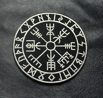 Viking Compass Vegvisir 3.5 Inch Acu Tactical Morale Hook Patch By Miltacusa