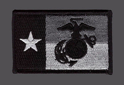 Marine Texas State Flag Marine Corps Usmc  Tactical Morale Acu Hook Patch