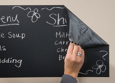 """Chalkboard Adhesive Vinyl 12""""X12"""" Sheet-, Set Of 10"""