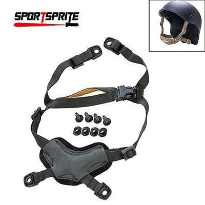 Military Tactical X-Nape Helmet General Suspension System For MICH ACH Helmet BK