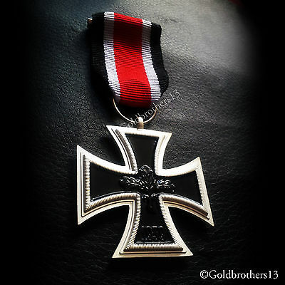 German Cross 2nd Class 1939 WW2 Antique Military Medal Armed Force Repro