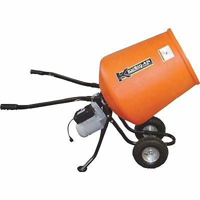 Kushlan Portable Electric Direct Drive Cement Mixer - 3.5 Cubic Ft. #KPRO350DD