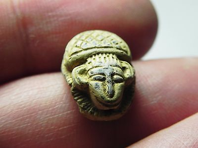 Zurqieh -Tat127-  Ancient Egypt, New Kingdom. Stone Scarab 1400 B.c