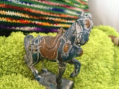 Antique Relic Horse Very Old Asian