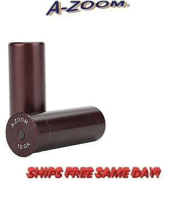 A-Zoom Precision Metal Snap Caps!!  * 10 Gauge *  # 12210  new! Two Per Package!