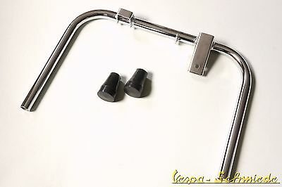 VESPA Centre Stand incl. Feet - Chrome - PX / Lusso / T5 - Stand Column base