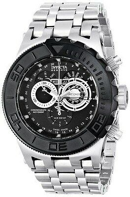 Invicta Men's 15965 Subaqua Swiss Chronograph Black Dial Stainless Steel Watch