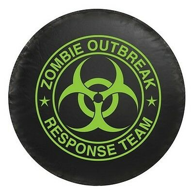 Universal Green Zombie Outbreak Response Team Spare Tire Cover New Free Shipping