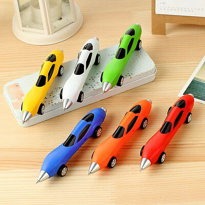 6Colors Novelty Classic Vehicles Multicolor Cars Toys Cars Shape Ballpoint Pens