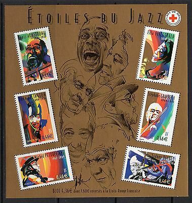 France Sgms3847 2002 Jazz Music Mnh
