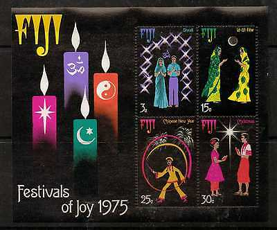 Fiji Sgms525 1975 Festivals Of Joy  Mnh