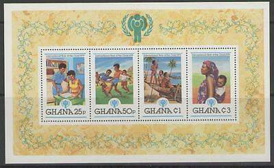 Ghana Sgms902 1980 Year Of The Child Mnh