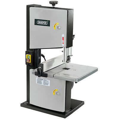 "DRAPER Bench Top 200mm 8"" Bandsaw 250Watt + 6 TPI Wood Working Blade, 82756"
