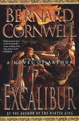 Excalibur: A Novel of Arthur by Bernard Cornwell (English) Paperback Book Free S
