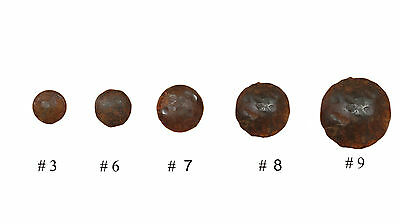 Rustic Iron Door Hammered Hardware Clavos- Nails-.75 in.-Rustic-Lot of 10