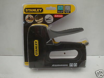Stanley Heavy Duty Wire & Cable Tacker Staple Gun 6 Ct10X
