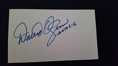 David Ogrin L.A. Open Autograph Rare !!! Signed 84 !!!