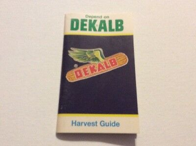 Vintage Depend On Dekalb Harvest Guide Pocket Ledger Or Notebook