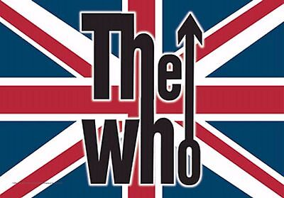 "The Who Flag Fabric Poster 30"" X 40"" !"