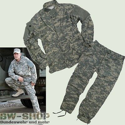 Original Us Army Jacke / Hose Acu At-Digital Tarn Armee Feldhose / Feldjacke