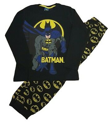 Boys Batman Pyjamas Pajamas Set Long sleeve Pjs pj Nightwear 7-14 Years Ex H&M