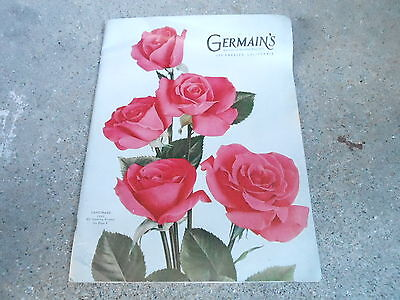 Vintage Flower Seed Catalog - 1950 Germains - Los Angeles Ca