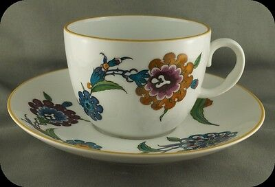 Royal Worcester Palmyra Cup and Saucer Pristine (4 available)