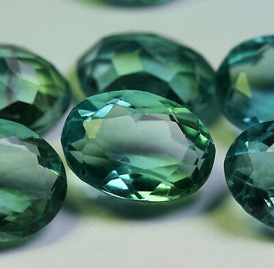 1 Fluorit 12x10 Oval 6,0 Ct!!!