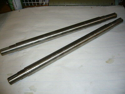 "Drive Axle Conveyer Shafts, set of 2, 18"" x 1.120, Keyed ends, Stainless Steel"