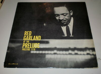 Red Garland -  At The Prelude - Orig Mono Prestige 1959 - Yellow Label Prlp 7170