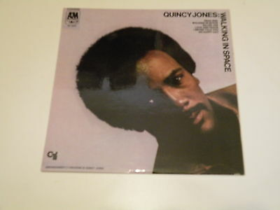 Quincy Jones - Walking In Space - Lp 1969 A&m Records Made In Italy - Ex-/ex-
