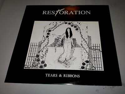 "Restoration - Tears & Ribbons - 1992 - Made In England - 12"" - Ep - Nightbreed -"