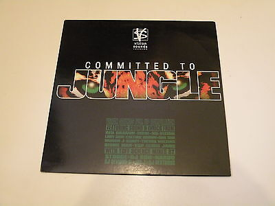 Committed To Jungle - 2 Lp Vizion Sounds Records Made In Uk 1995 - Mint-/ex--
