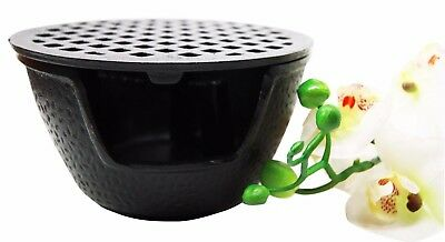 "Japanese Cast Iron Tetsubin Teapot Tea Light Candle Warmer Base Riser 6""Diameter"
