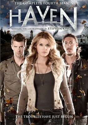 Haven: The Complete Fourth Season [New DVD]