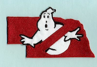 Nebraska State - Embroidered Ghostbusters No Ghost Iron-On Patch
