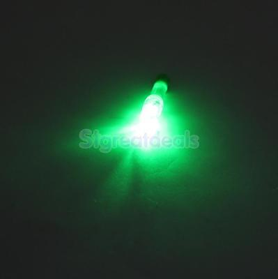 Plastic Lighted Nock Archery Hunting Compound Bow Green LED Light Arrow Tail