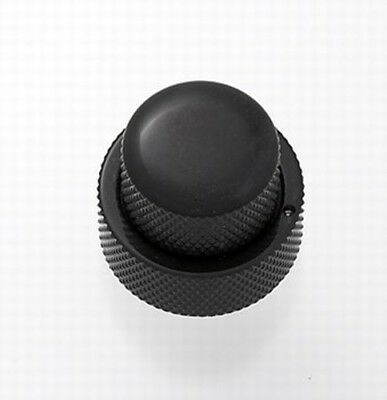 NEW - Concentric Stacked Knob With Set Screws - BLACK