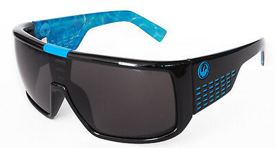 NEW Dragon Sunglasses DOMO Palm Springs Pool / Grey 720-2070