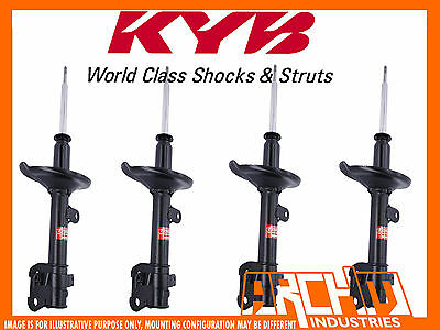 Front & Rear Kyb Shock Absorbers For Subaru Forester 08/1997-07/2002