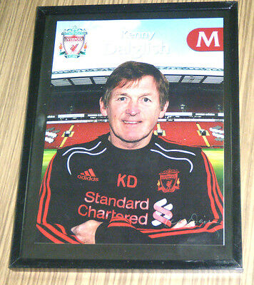 Liverpool Football Club LFC Soccer Souvenir Photograph - Kenny Dalglish