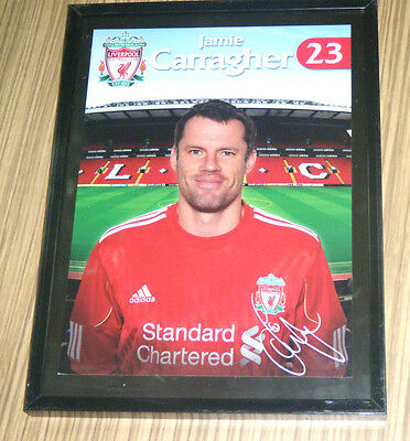 Liverpool Football Club LFC Soccer Souvenir Photograph - Jamie Carragher