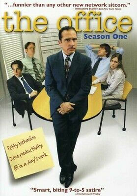 The Office - Season One (DVD, 2005) Steven Carell_John Krasinski_Rainn Wilson