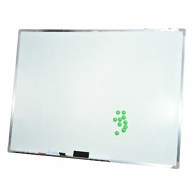 HOMCOM Magnetic Whiteboard Magnet Writing Board Office Home with Accessories, 43