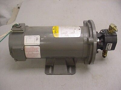 BALDOR 1/2 HP 1750 RPM ELECTRIC MOTOR 90 VDC With HALDEX BARNES Hydraulic PUMP