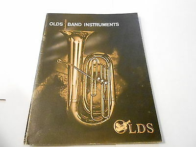 VINTAGE MUSICAL INSTRUMENT CATALOG #10075 - 1960s  F.E. OLDS AND SON
