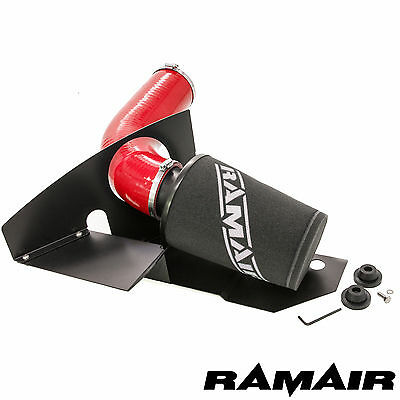Ramair Cone Air Filter Induction Intake Kit in Red - 2.0 TSI Golf mk6 GTI FR VRS