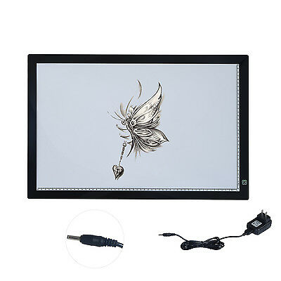 "23.6""  LED Tracing Pad Ultrathin Table Drawing Tattoo Copy Board Art Crafts"