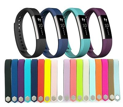 Hellfire Trading Replacement Wristband Bracelet Band Strap for Fitbit Alta